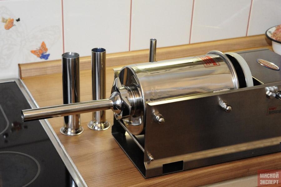 Шприцы для набивки колбас в домашних условиях
