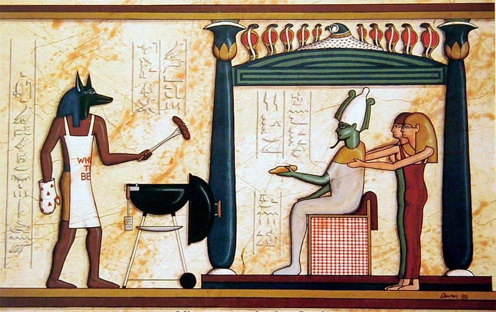 Древние фрески