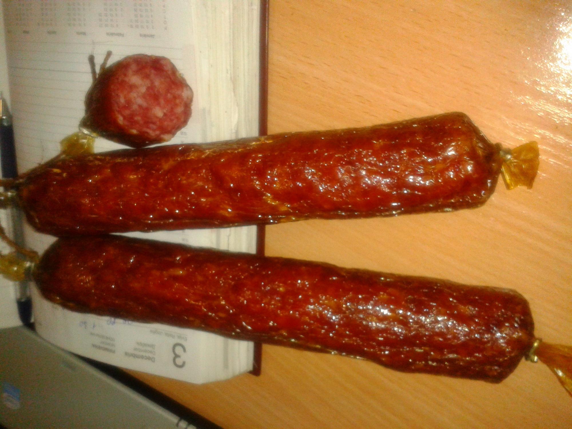 Как сделать сырокопчёную колбасу мягкой